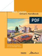 Alberta Learners License Handbook