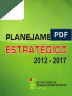 Planejamento Estratégico Do Ifam-2012-2017 - Cartilha Completa