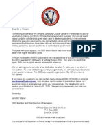 Solicitaion Letter Word PDF