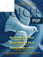 Religiões e Paz - Voices EATWOT