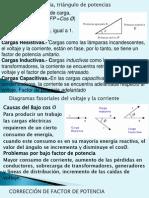 Calculo De Correccion del Fctor de potencia