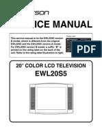 Emerson EWL20S5 Lcd-tv