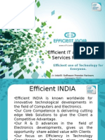 Efficient INDIA Company Profile - Training & Workshops
