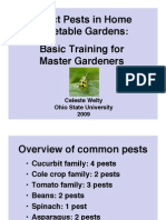 Row Covers & Pest Control for Vegetable Gardens; Gardening Guidebook for Ohio