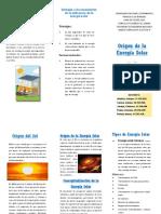 Tripticos Energia Solar