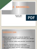 Asma Bronkial Kel 3