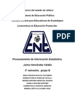 Reporte Sobre Estadistica en Educacion (1)