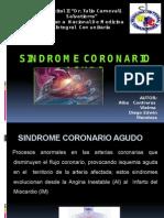 Sindrome Coronario Agudo ALBA Y DIEGO