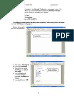 Crearea Pag Web Cu Word