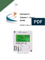 Gemstart 5 - Vol 1 - User Guide