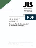 Japanase Industrial Standard