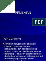 PENILAIAN (Evaluasi)