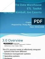 The Data Warehouse ETL Toolkit - Chapter 03