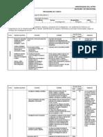 Programa - PTI Metodología de la Investigación Educativa 1
