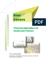 Row Covers - Protected Agriculture for Small-Scale Farmers; Gardening Guidebook