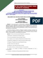 Reglamento de Construcción Ciudad de México