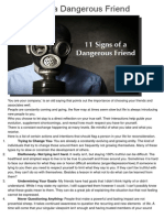 11 Signs of a Dangerous Friend