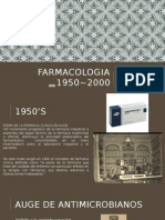 Farmacologia 1950~2000