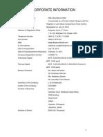 Corporate Profile