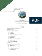 Trabajo 15 - Depreciación y Agotamiento