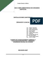 014 Instalaciones Sanitaria -Desagues Cloacales