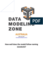 Data Model Scorecard - Article 6 of 11