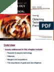 Obtaining Technology - Planning