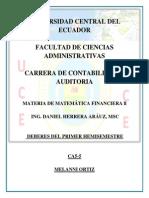 Matemática Financiera II