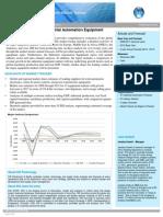 Industrial Automation Equipment Market Tracker 2014