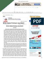 BPJS = Badan Pembayar Jasa Sikiiit_