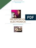 Falsificacion Electronica