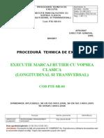 Pte-sr-03 Executie Marcaj Rutier Cu Vopsea Clasica