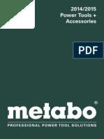 2014 Metabo Katalog GB Lr