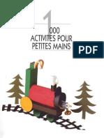 Bricolage enfants - 1000 activités pour petites mains.pdf