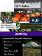 Integrating Cover Crops into Specialty Crops Production; Gardening Guidebook for Kansas