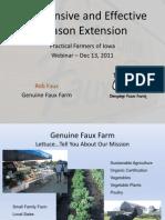Inexpensive & Effective Season Extension; Gardening Guidebook for Iowa