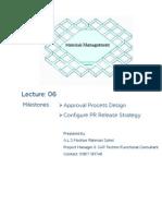 SAP MM Lec06 to 08_PR Approval Design & Config_27012015