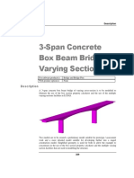 3 Span Concrete Box Bridge