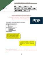 TODOS Los Examenes Cuantitativa y Soluciones 2009 2012