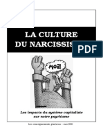 Le Narcissisme (Brochure 2008)