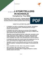 Using Storytellers in Schools