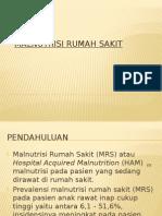 Malnutrisi Rumah Sakit