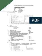 Inspection Report GUDUR MBM -1
