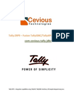 Fusion TallyJDBC Documentation