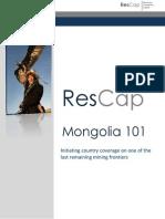 ResCap Mongolia 101