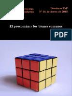 DOSSIERES EsF 16 El Procomún y Los Bienes Comunes