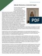 Il Rinascimento Nei Nebrodi Domenico e Antonello Gagini