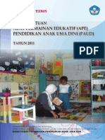 Petunjuk Teknis Penyaluran Bantuan Ape Paud