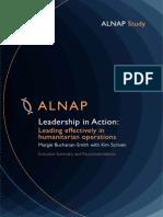 Leadership in Action Exec Summary