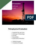 Petrophysical Evaluation - Dick Woodhousepdf
